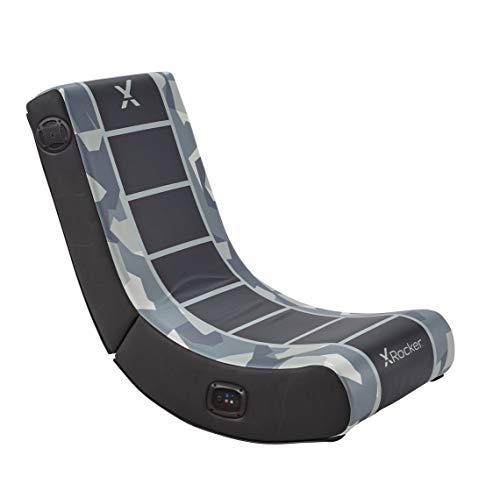 X Rocker, 5109001, Camo Retreat 2.0 BT, 33.46 x 16.14 x 25.59, Gray/Black