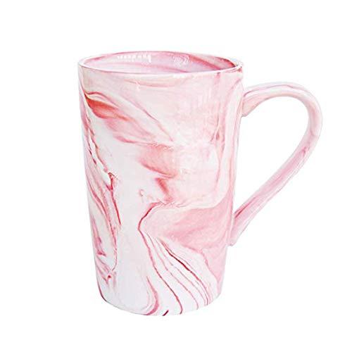 Viesky Marmer Patroon Mok Keramische Koffie Cup Ontbijt Bekers Vrouwen Mannen Gift roze