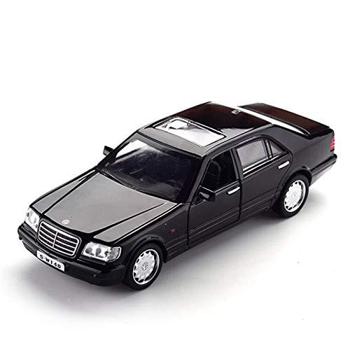 Die-Cast Fahrzeuge Für Mercedes-1993 SW140-Legierung-Spielzeugauto-Sound und leichte Rückzugsmodell...