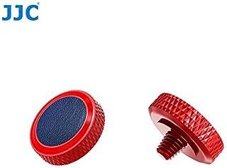 JJC SRB-R BLUE Soft Release Button Deluxe Red Shutter Button for Fuji Fujifilm X-T20 X-T10 X-T2 X-PRO1 X-PRO2 X100 X100S X...