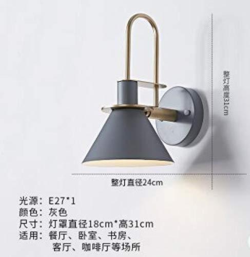Hanglamp Nordic nachtkastje LED wandlamp koffie creatieve badkamer