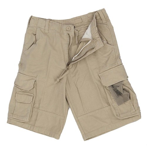 Mil-Tec US Aviator Shorts Prewashed Oliv Gr.S
