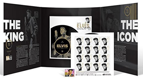 USPS Forever Elvis Collection Folio