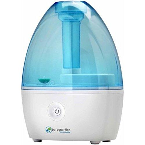 PureGuardian 14-Hour Nursery Cool Mist Ultrasonic Humidifier White, Blue