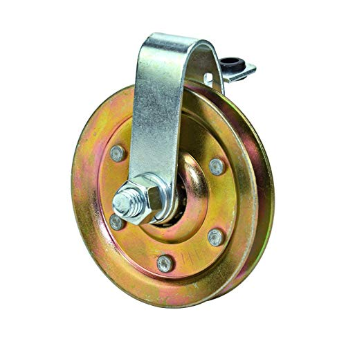 Lowest Prices! 3 Garage Door Pulley with Cable Restraint - Heavy Duty (10 Pulleys)