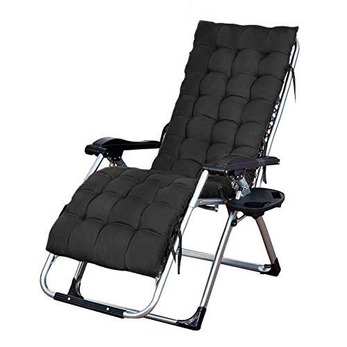 MWPO Chaise Pliante réglable avec Coussin et Oreiller Cervical pour véranda terrasse de Jardin pelouse Camping Chaise Portable 65 * 75 * 115 cm Chaise multifonctionnelle