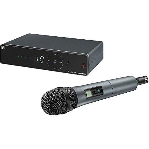 Sennheiser XSW 1-825 Professionelles Wireless-Mikrofonsystem für Live, Gesang und Vorstellungen XSW 1-825E - E-Range: 821 - 832 / 863 - 865MHz