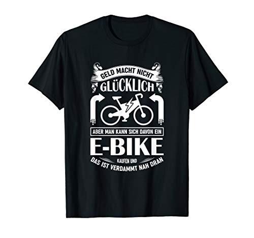 T-Shirt E-Bike | Fahrrad E Bike Elektrofahrrad Ebike Spruch T-Shirt