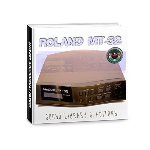 Para Roland MT-32–enorme y original de fábrica nueva biblioteca de sonido creado y editores en CD