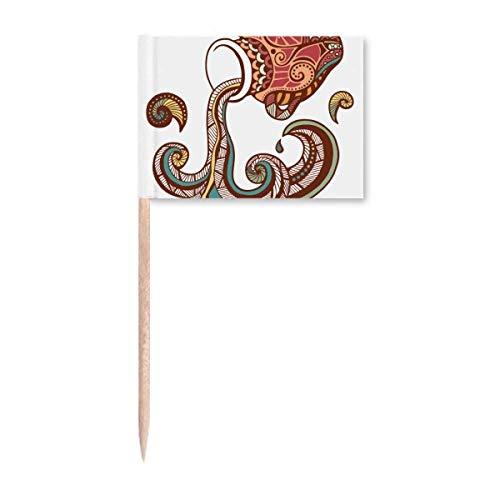 Aquarius Sternbild Sternzeichen Zahnstocher Flaggen Marker Topper Party Dekoration