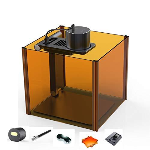 Máquina de grabado láser de 1,6 W con soporte de enfoque automático, cortadora láser láser láser láser con funda plegable y soporte eléctrico automático