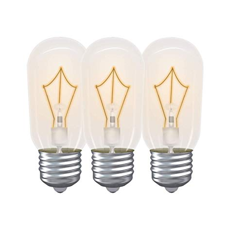 Light Bulb for GE Microwave Oven - Microwave Light Bulb Lamp Fits for GE Whirlpool Maytag Frigidaire Kenmore Over the Stove Microwave, Range Hood Light Bulb for GE microwave, Replaces WB36X10003 3Pack -  UP2WIN
