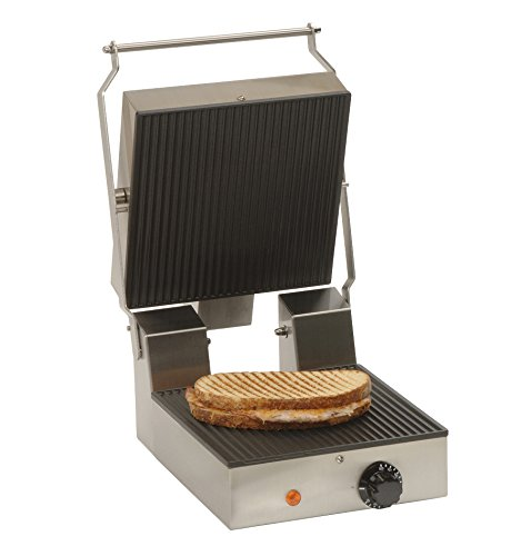 Lowest Prices! Antunes Panini Grill TL-5270 9800202 (International Model), 11.25 Length, 15.75 Wid...