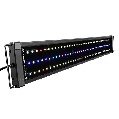 NICREW ClassicLED Plus Ho Éclairage Aquarium, Rampe LED Étanche à Spectre Complet pour Aquarium d'eau Douce, 75-100 cm, 34 W, 1265 LM