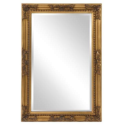 Howard Elliott Queen Ann Rectangular Hanging Wall Mirror,...