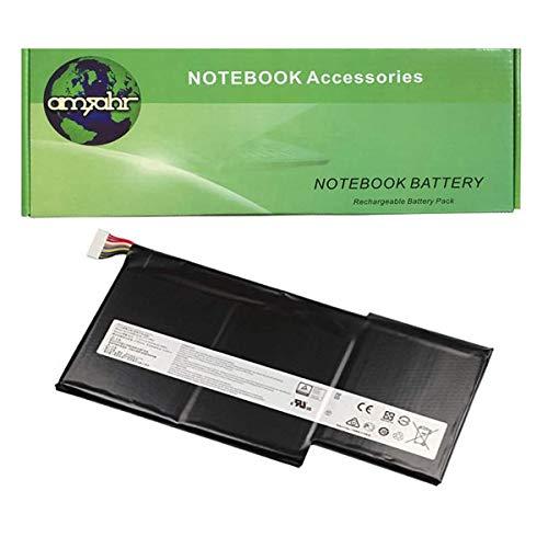 Amsahr MSIBTYM6J-02 - Batería de reemplazo para MSI BTYM6J, GS63VR 6RF-095CN, GS63VR-6RF16H22, GS63VR-7RE-011, Color Gris