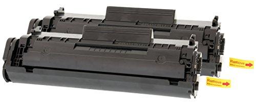 TONER EXPERTE® 2 Toner kompatibel für HP Q2612A Laserjet 1010 1012 1015 1018 1020 1022 1022n 1022nw 3010 3015 3020 3030 3050 Canon 703 FX10 i-SENSYS LBP2900 LBP2900i LBP3000 MF4100 (2000 Seiten)