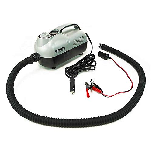 NIXY Elite Inflatable Paddle Board Electric Pump | 12 Volt - 20 PSI - Powerful and Universal, Easy to Use