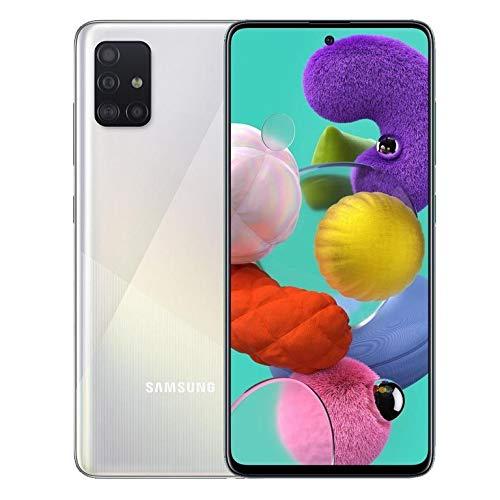 Samsung Galaxy A51 (SM-A515F/DSN) Dual SIM 128GB+6GB RAM SIMフリー(White/ホワイト)