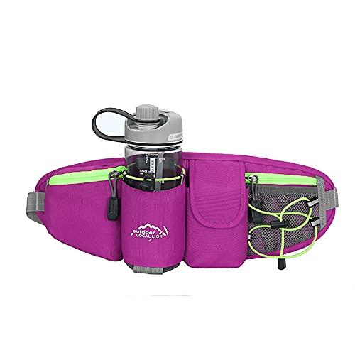 Bolsa de Cintura - Bolsillo Deportivo de Larga Distancia - teléfono móvil Exterior Tatuaje antirrobo, cinturón de multifunción Invisible-6_A