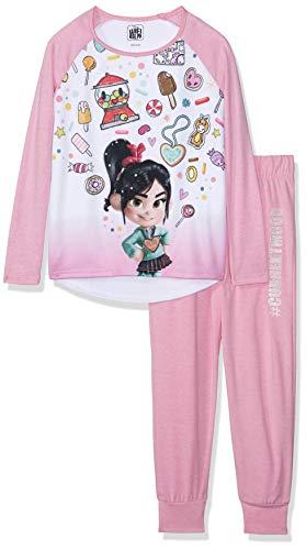 RALPH RPH13881MZ Pijama para Niñas, Color Rosa, 8