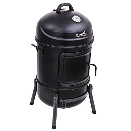 Char-Broil Bullet Charcoal Smoker, 20""