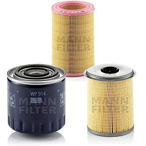 MANN-FILTER - Kit de inspección para filtros de combustible, filtro de aire, filtro de aceite