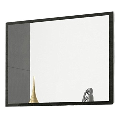 Studio Decor Rambla Espejo de Pared, Madera, Ceniza, 75 x 90 x 2 cm