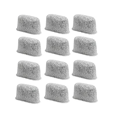 GOLDTONE Activated Carbon Water Filters fits BRAUN Coffee Makers and Brewers Replacement for your BRAUN Charcoal Water Filter (12 Pack)