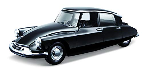Bburago Citroën DS19 de 1955 Escala 1:32-18/43204, Color Negro (18-43204)