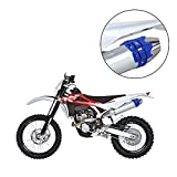 Alftek Protector escape moto Universal Protector tubo de escape moto Escudo de Calor Cubierta para Dirt Pit Bike Motocross