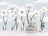 Moderne minimalistische frische Garten handgemalte...