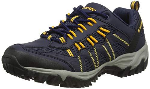 Hi-Tec Jaguar, Zapatillas de Senderismo Hombre, Azul (Navy/Yellow 31), 41 EU
