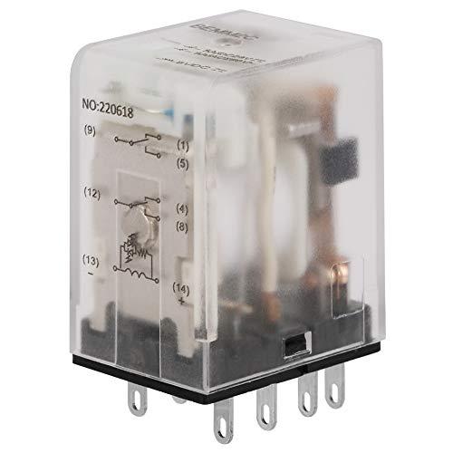 6VDC / 12VDC / 24VDC Interruptor de relé electromagnético Relé electromagnético 5A...