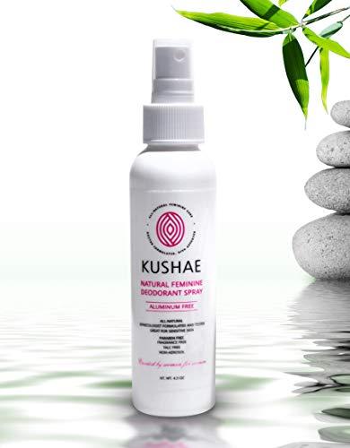 KUSHAE Natural Feminine Deodorant Spray review
