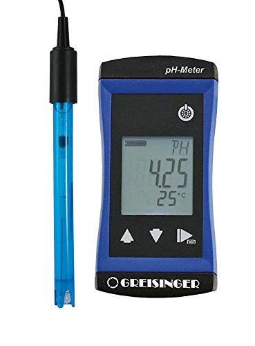 GHM Greisinger 609850 pH-Messgerät, Blau, 10,8x5,4x2,8 cm
