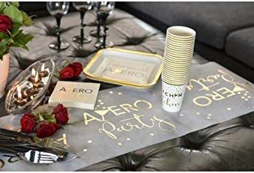 Chemin de table ap/éro party x1 REF//5725