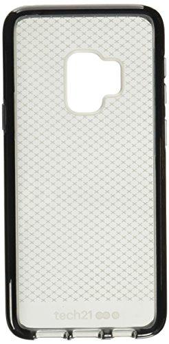 tech21 EVO Check Funda Protectora para Samsung Galaxy S9 - Gris Ahumado/Negro