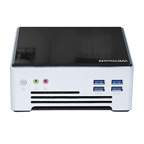 Mini PC Desktop Computer for Windows 10 Pro,Intel Core i5-7440HQ,Mini PC 2 Nic HDMI DP WiFi Bluetooth 4.0,6×USB3.0 Mini Computer 16GB Ram 256G SSD