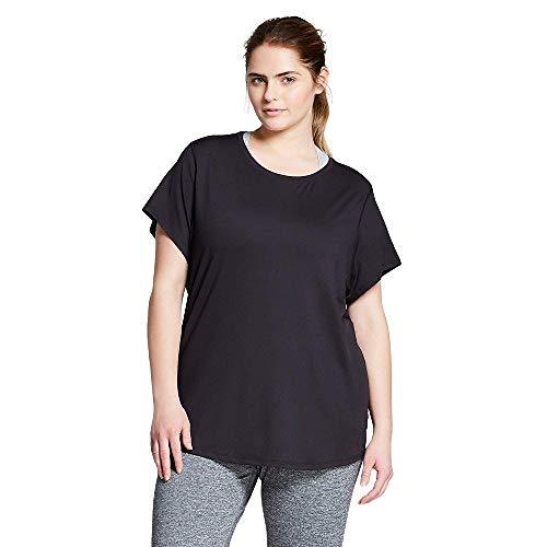 Champion Camiseta de mujer talla grande - negro - 1X