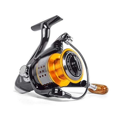 XHLLX Serie De Carrete De Pesca 3000, Sin Espacio De Metal Preseles Máxima Resistencia 8Kg, Carrete De Spinning Carrete De Pesca