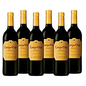 Campo Viejo Rioja Tempranillo , 75cl (Case of 6) 'Spanish Soft, Velvety and Smooth Red Wine'