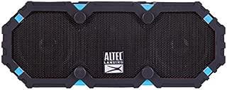 Altec Lansing iMW475 Mini Life Jacket Bluetooth Speaker Waterproof Wireless Bluetooth Speaker, Hands-Free Extended Battery Outdoor Speaker, Ultra-Portable 10ft Range, Black and Blue