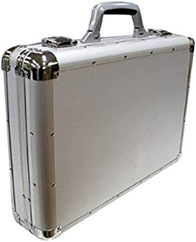 Distinguished storing power that [A3 Größe into aluminum frame attache case  ] (Silber) [Toy] (japan import)