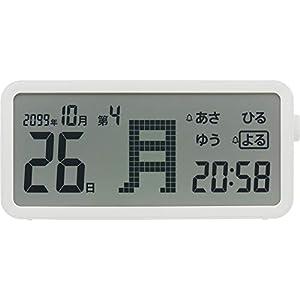 曜日がハッキリわかるデジタル日めくりカレンダー AM60