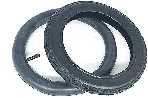 OHHG Neumáticos Scooter eléctrico, neumáticos Interiores Exteriores Antideslizantes 12 Pulgadas, adecuados reemplazo neumáticos Traseros sillas Ruedas eléctricas 12 1/2 x 1,5