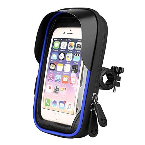 Longgaohui Phone Stands Navigation Bracket Waterproof, Easy To Operate, Navigation Adjustable, Retractable, Buckle, Waterproof, Suitable for Motorcycle Navigation(Red Blue Black)