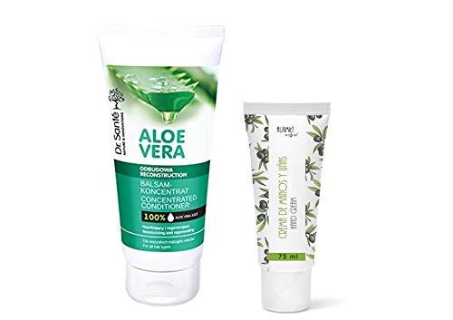 Dr Sante Aloe Vera Wiederaufbau Konzentrierte Conditioner- Spülung alle Haartypen 200ml