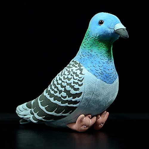 Plüschtier Wurfkissen 19cm süße Wilde Tauben Simulation Rock Pigeon Dolls Super süße Puppen Kleinbuchstaben Tauben Plüschtiere Geschenke