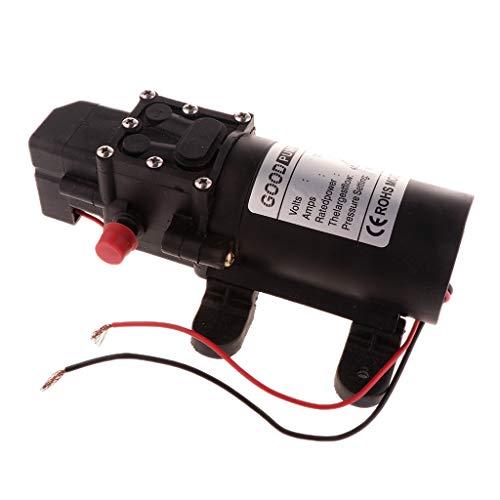 gazechimp Bomba Autocebante de Diafragma de Presión de Agua Micro DC 12V 87PSI 4L / Min - UNA
